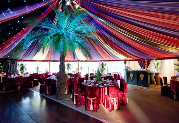 Wigwam Marquees canvas round marquee hire Southeast Casablanca Party