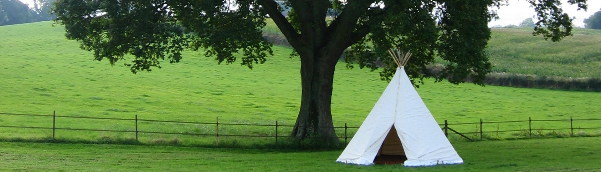 Wigwam Marquees traditional canvas party marquee hire Surrey round and Round Ended luxury marquees 5
