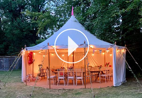 Garden Tent Video